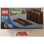 9V Curved Rails - 4520 - World City - Trains