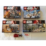 Group of Star Wars Sets - No Minifigs