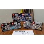 Series 1 LEGO Star Wars Microfighters