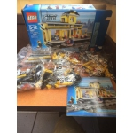 "Lego set #7997 - ""Train Station"" - Open Box Brand New - 2007 Retired"