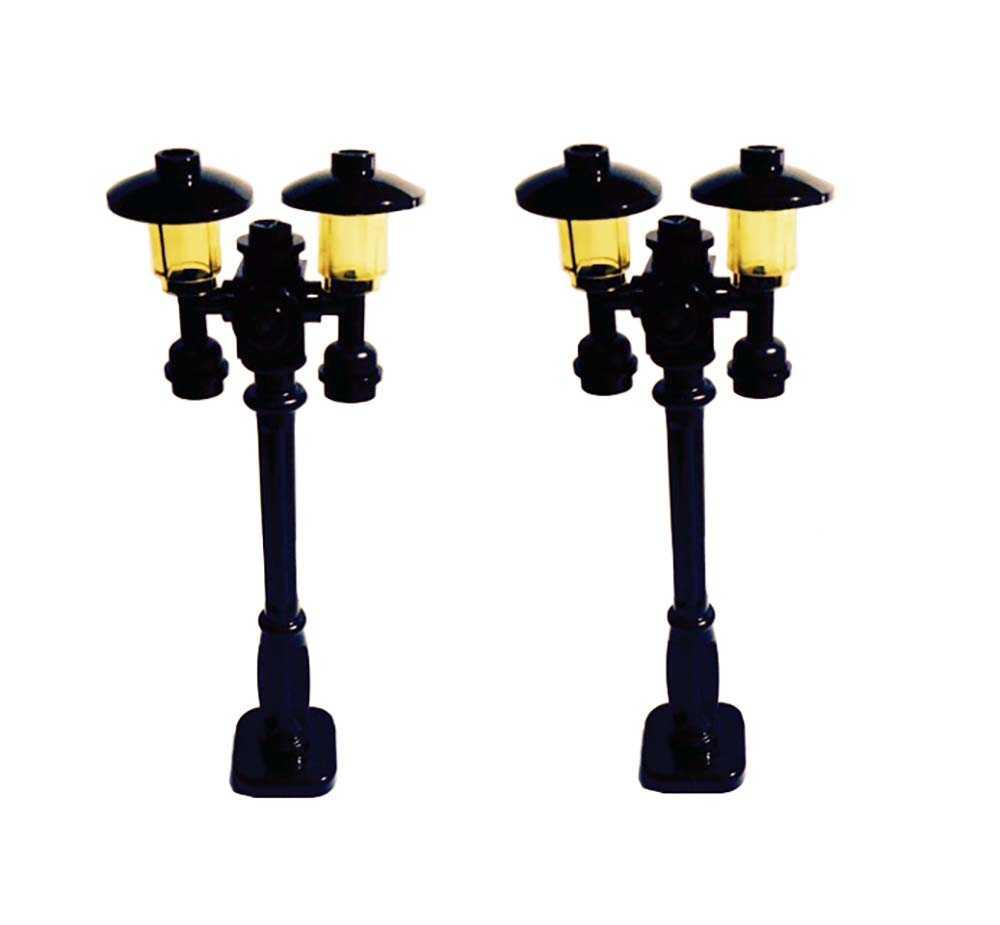 Lego Custom Build Street Lamps / Lamp Posts, Victorian Style, Set of 2 by BrickheadCFO on Brick ...