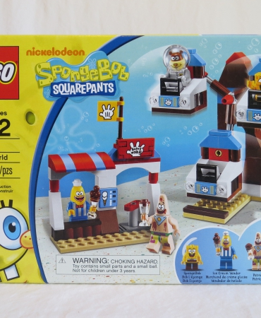 LEGO SPONGEBOB SQUAREPANTS SET 3816 GLOVE WORLD MISB