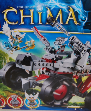 Legends of CHIMA WAKZ PACK TRACKER 70004, New LEGO  3 figures NISB retired