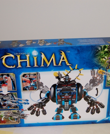 Legends of Chima, Gorzan's Gorilla Striker 70008 Lego New in sealed box, retired.