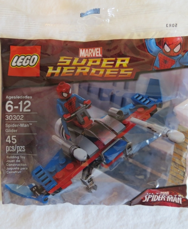 LEGO MARVEL SUPERHEROES POLYBAG ST 30302 SPIDERMAN GLIDER NISP