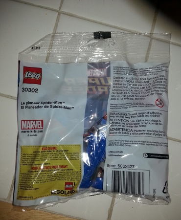 LEGO SPIDER-MAN GLIDER 30302 Poly bag NEW UNOPENED Spider Man Super-Heroes 45 pc