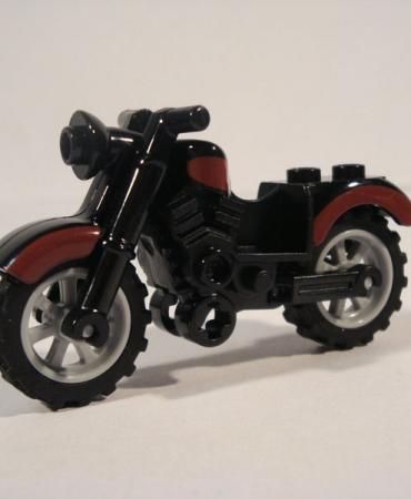 RARE Lego Harley Style Motorcycle