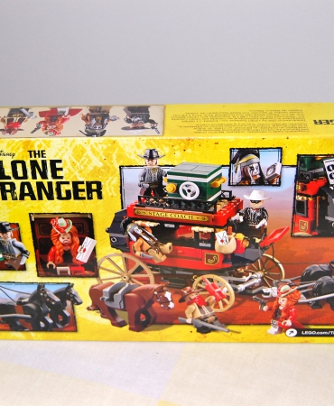 Lone Ranger Stagecoach Escape 79108 Lego, retired and hard to find, New in sealed box