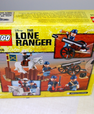 The Lone Ranger Cavalry Builder Set 79106 LEGO, New in Sealed Box, Retired.