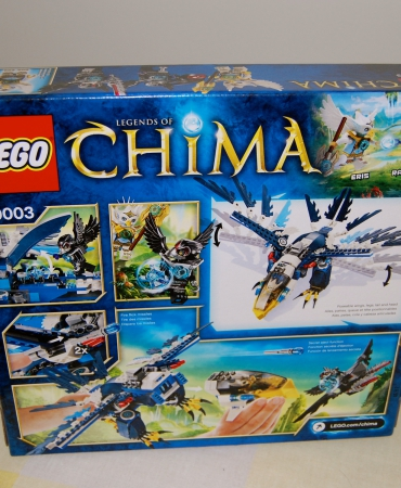 Chima Eris Eagle Interceptor 70003, Legends of Chima, Lego, New in sealed box, retired.