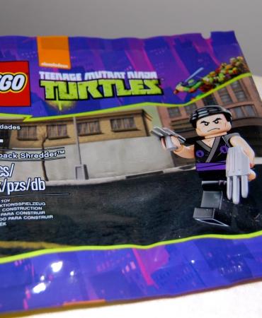 Flashback Shredder, Teenage Mutant Ninja Turtles 5002127, Lego, New in sealed Polybag,