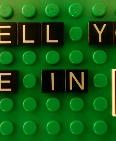 Spell Your Name in Lego Letters! Sign for Your MOC! .50 Cents a Letter 3070 4677