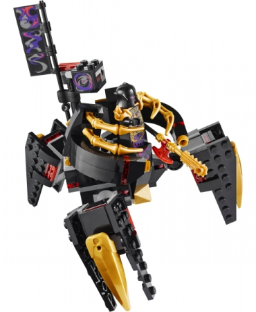 Lego 70728 Ninjago Battle for Ninjago City OVERLORD MINIFIGURE AND MECH ONLY