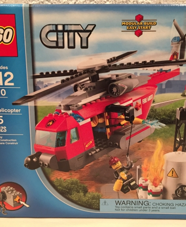 Lego 60010 Fire Helicopter NISB