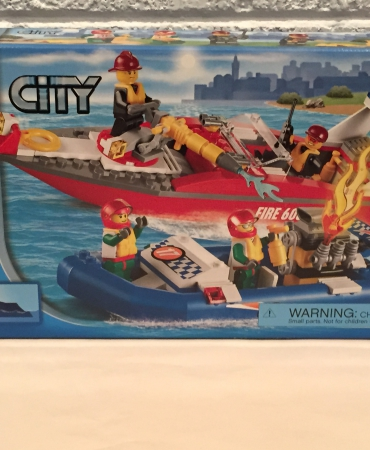 Lego 60005 City Fire Boat NISB