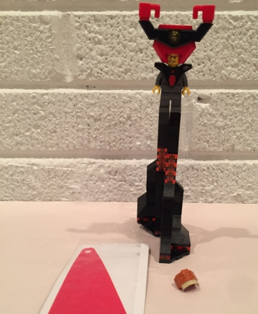 Lego 70809 The Lego Movie Lord Business' Evil Lair LORD BUSINESS MINIFIGURES ONLY