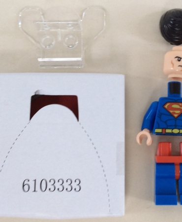 Lego 76028 DC Comics Super Heroes Darkseid Invasion SUPERMAN MINIFIGURE ONLY