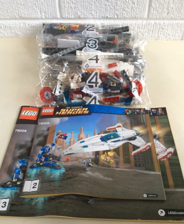 Lego 76028 DC Comics Super Heroes Darkseid Invasion JAVELIN SPACESHIP ONLY