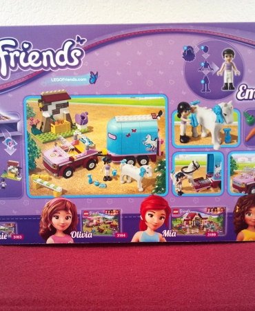 Lego Friends 3186, Emma's Hors Trailer, PROMOTION!!