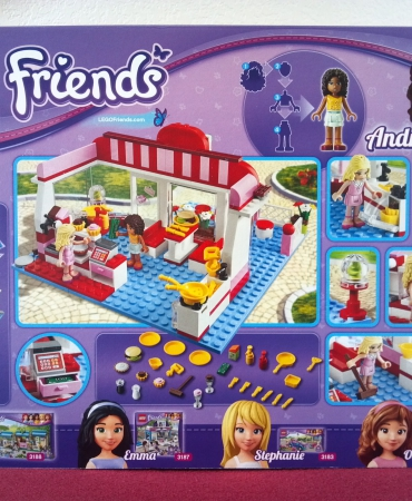 Lego Friends 3061, City Park Cafe, PROMOTION!!