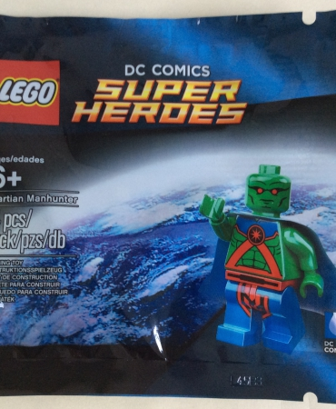 Lego 5002126 DC Comics Super Heroes Martian Manhunter Polybag NISB