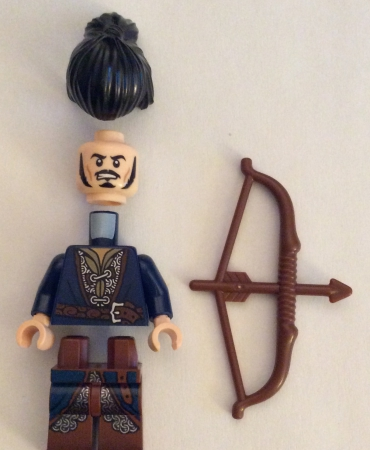 Lego 79017 The Hobbit Battle of the Five Armies BARD THE BOWMAN MINIFIGURE ONLY
