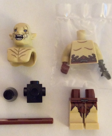 Lego 79017 The Hobbit Battle of the Five Armies AZOG MINIFIGURE ONLY