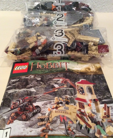 Lego 79017 The Hobbit Battle of the Five Armies NO MINIFIGURES
