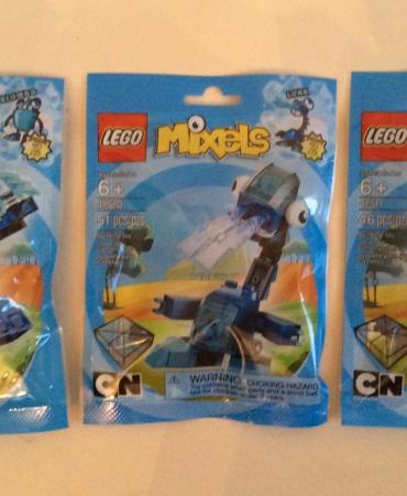 Lego Series 2 Mixels 41509 Slumbo 41510 Lunk 41511 Flurr NISB