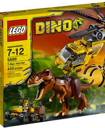 LEGO Dino T-Rex Hunter (5886) - Brand New in Sealed Box