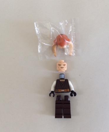 Lego 9498 Star Wars Saesee Tiin's Starfighter SAESEE TIIN MINIFIGURE ONLY