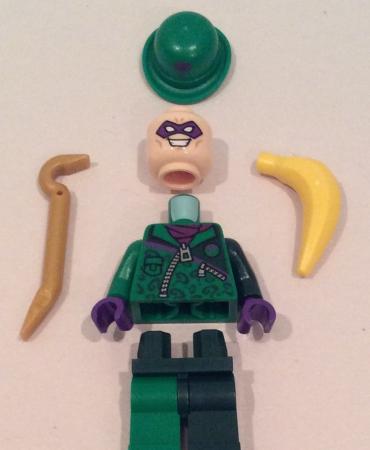 Lego 76012 DC Comics Super Heroes Riddler's Chase RIDDLER MINIFIGURE ONLY