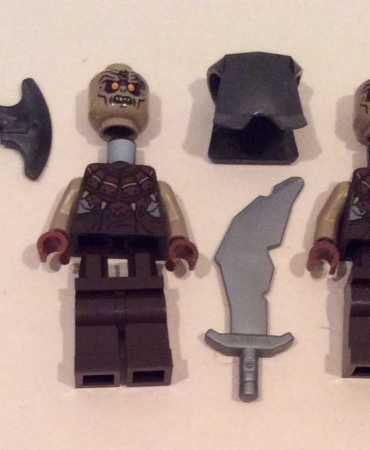 Lego 79008 Lord of the Rings Pirate Ship Ambush ORCS x4 MINIFIGURES ONLY