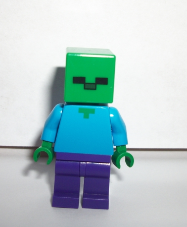 Minecraft Creeper Zombie Minifig Figure Authentic