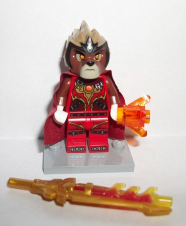 Lego Chima Lavertus Rare Promo Exclusive Minifig Figure