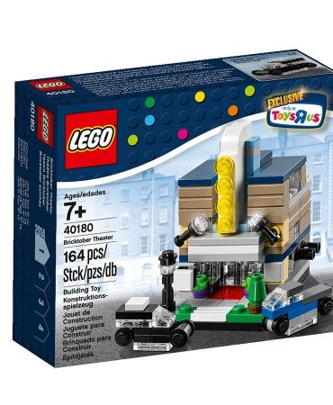 LEGO Toys R Us BRICKTOBER THEATER Set 40180 Exclusive Promo Mini Modular Cinema
