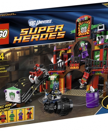 Lego Super Heroes New Sealed Set 6857 Dynamic Duo Funhouse Complete 5 Minifigs