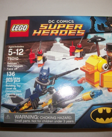Lego Super Heroes 76010 Batman The Penguin Face-off Sealed Set