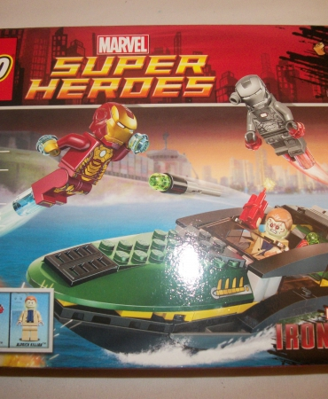 LEGO Super Heroes Iron Man™: Extremis™ Sea Port Battle 76006