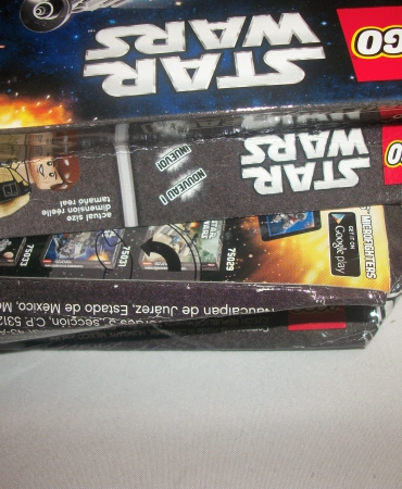 Lego Star Wars Millenium Falcon Micro Set 75030  DAMAGED BOX CRUSHED