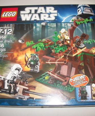 LEGO 7956 Star Wars, Ewok Attack, New Sealed