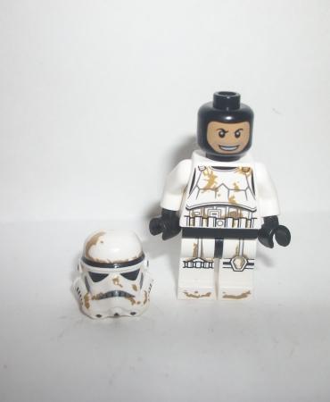 Lego Star Wars Minifig  Sand Clone Storm Trooper Figure Minifigure