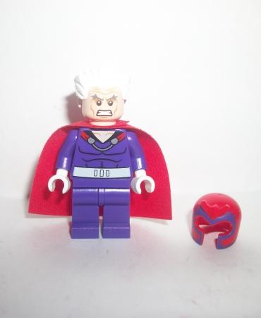 Lego Marvel Super Heroes X-Men Minifigure Magneto Villian Figure
