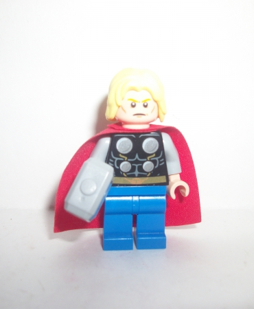 Lego Super Heroes Marvel Thor w Hammer Figure Minifigure