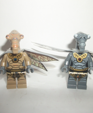 Star Wars Minifigure Geonosian Zombie Warriors Figure Lot of 2