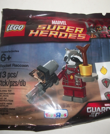 Lego Sealed Polybag Marvel Super Heroes GOTG Guardians Rocket Raccoon 5002145