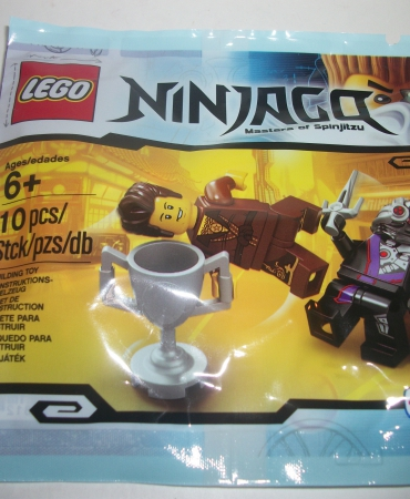 Lego Sealed Ninjago Polybag Dareth TRU Exclusive 500214