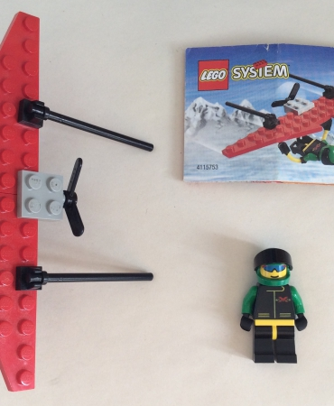 Lego 6585 Town Extreme Team Hang Glider USED 100% COMPLETE