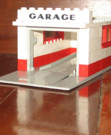 236 Garage with Automatic Door
