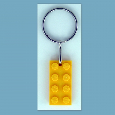 Key Rings w/ LEGO #3020 2x4 Plate You Pick Lot Size Birthday Party Favor Attendance or Game Prize